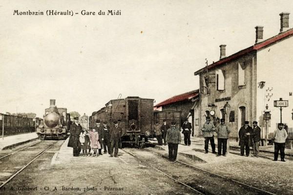 la gare de Montbazin