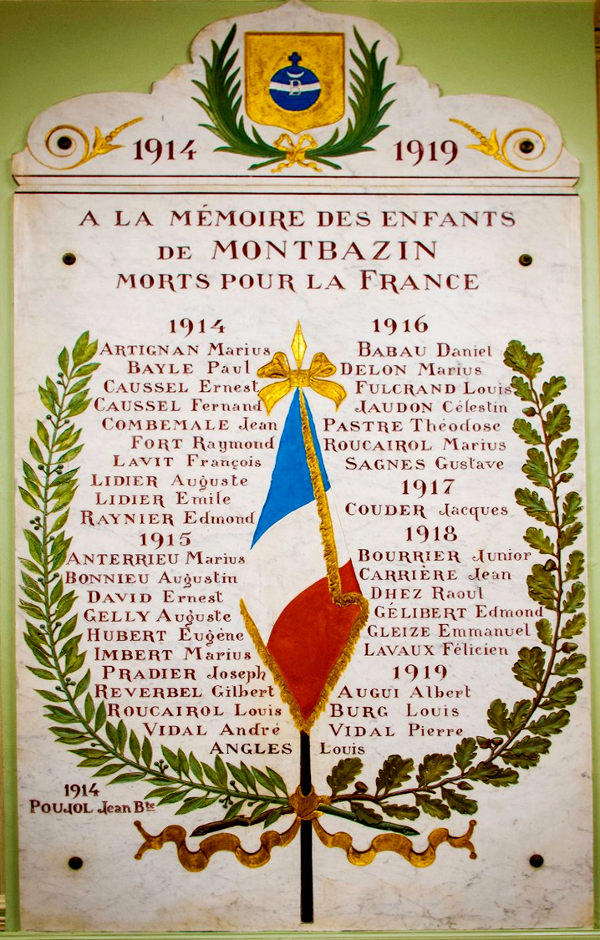 plaque mplf 3044 (mairie)