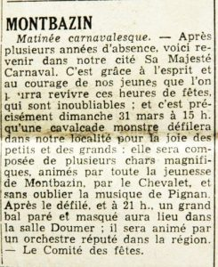 Midi Libre du 29 mars 1957