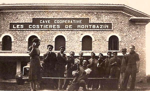 L'équipe de la cave coopérative, vers 1945-46