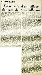 Midi Libre, 12 avril 1964