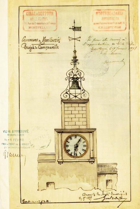 campanile et horloge - 1897