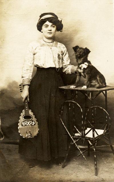 Jane Gleize, commerçante