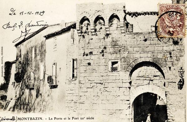 La porte du 12ème siècle