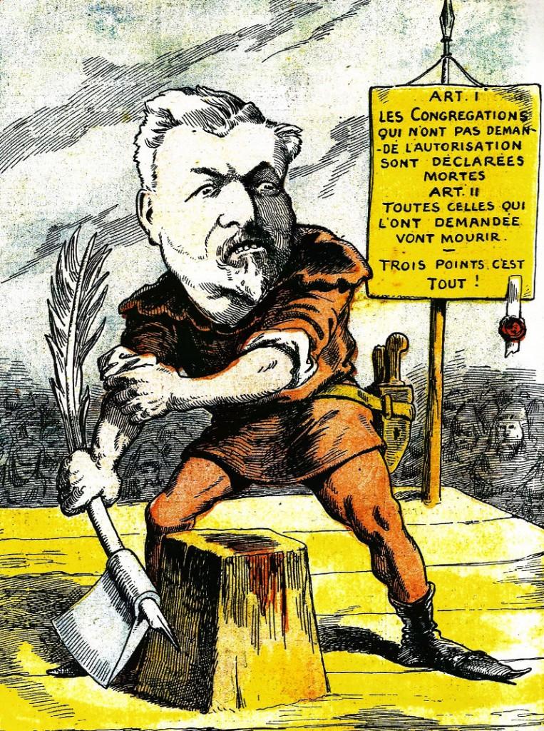 laicité caricature