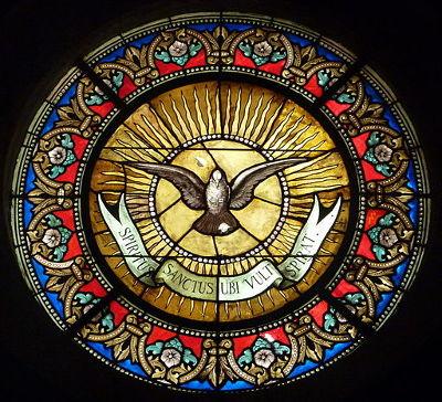 Oculus du Saint Esprit, symbole de la Confrérie