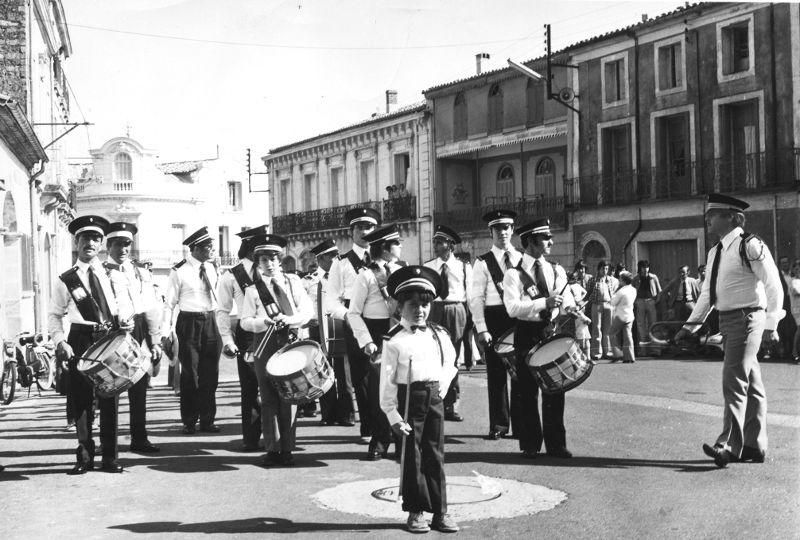 La fanfare de Montbazin en 1972