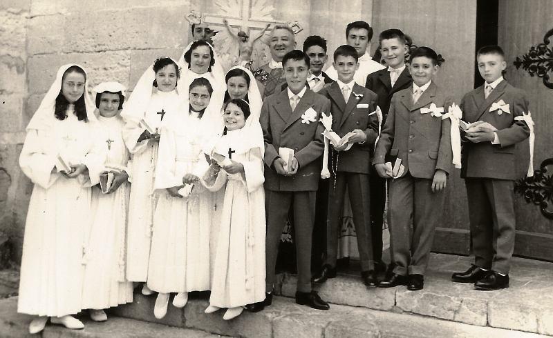 communiants en 1961