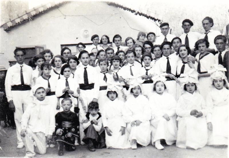 les treilles en 1935