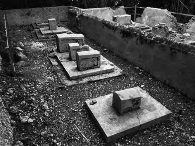 restes du cimetière