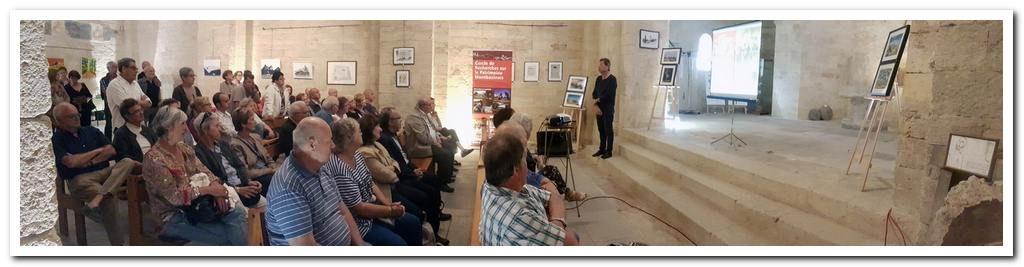 présentation du livre Montbazin à la chapelle