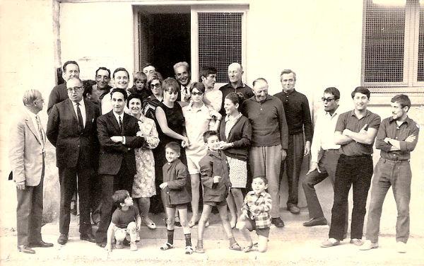 Le Conseil d'Administration de la MJC - 1968