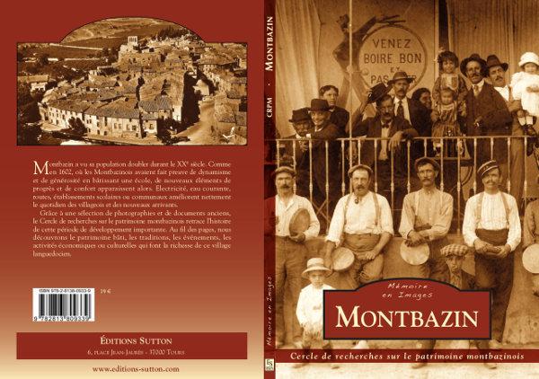 """couverture du Livre """"Montbazin"""" paru en 2016, éditions Sutton"""