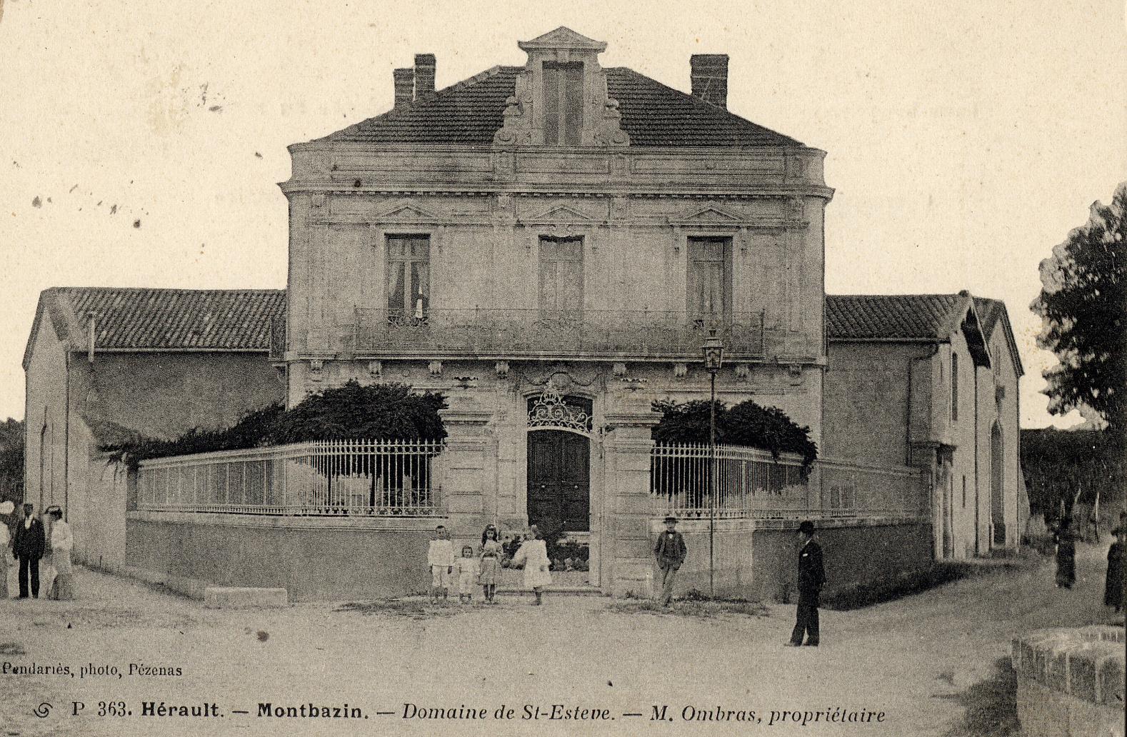 Domaine de Saint Estève, route de Poussan