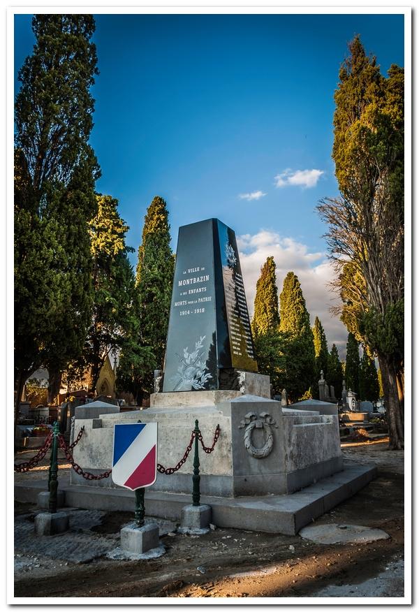 Monument aux morts de Montbazin