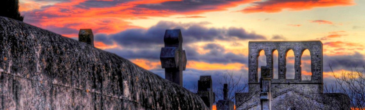 Montbazin, vu du cimetière