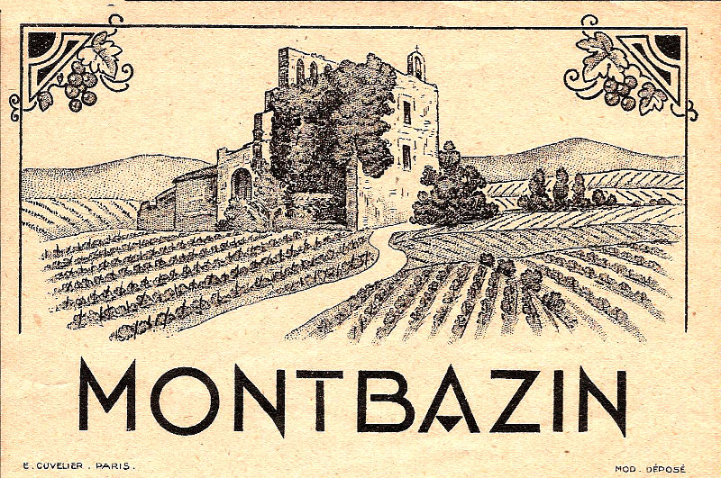 étiquette bouteille vin