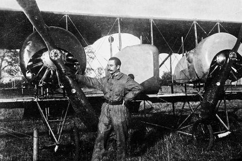 Eugène Ducand, pilote aviateur