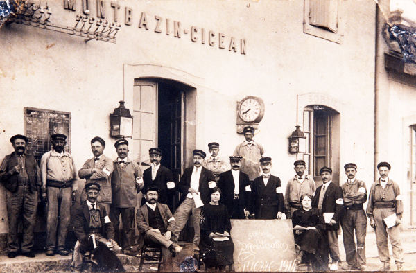 Souvenir mobilisation guerre 1914