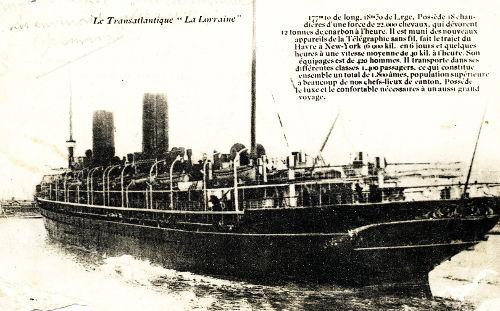 bateau Lorraine