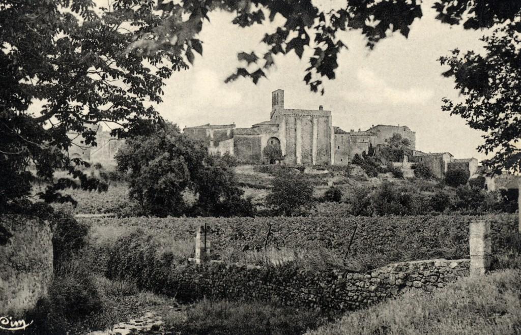 Montbazin vue chapelle