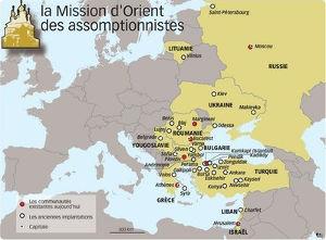 carte mission Orient