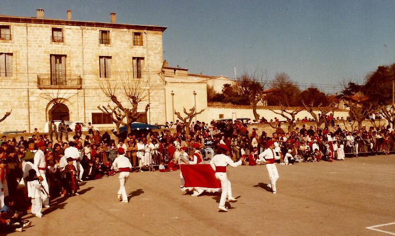 Chevalet carnaval 1984