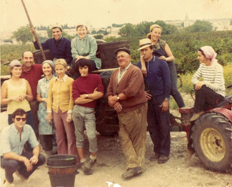vendanges 1972 : la colle Géraud